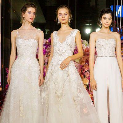 Gown, Dress, Fashion model, Clothing, Wedding dress, Fashion, Haute couture, Bride, Bridal party dress, Bridal clothing,