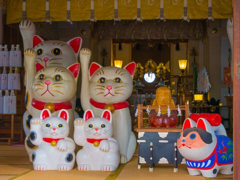 Cat, Toy, Felidae, Small to medium-sized cats, Souvenir, Figurine, Whiskers, Domestic short-haired cat,
