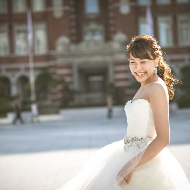Bride, Photograph, Gown, Dress, Wedding dress, Clothing, Bridal clothing, Beauty, Hairstyle, Shoulder,