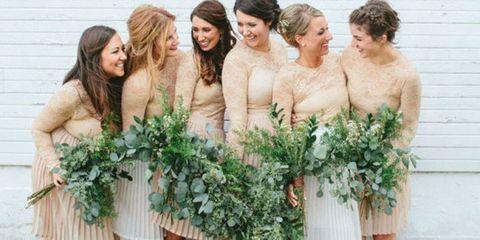 Bride, Dress, Plant, Flower, Bouquet, Wedding dress, Flower Arranging, Floral design, Floristry, Gown,