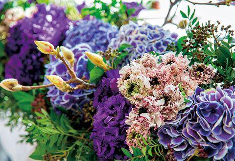 Flower, Floristry, Flower Arranging, Bouquet, Floral design, Purple, Plant, Lavender, Lilac, Cut flowers,