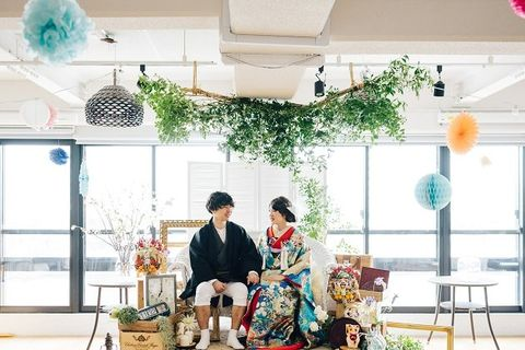 Photograph, Green, Yellow, Room, Design, Ceremony, Event, Photography, Furniture, Dress,