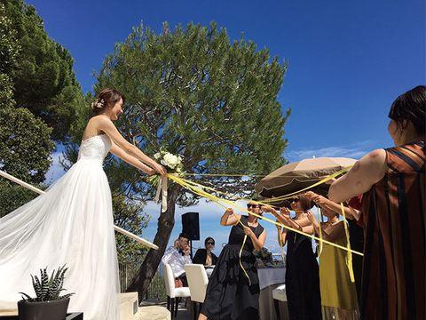 Dress, Pole, Event, Tree, Ceremony, Gown, Wedding dress, Tradition, Wedding, Leisure,