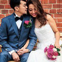Clothing, Coat, Event, Brick, Trousers, Dress, Petal, Suit, Photograph, Outerwear,