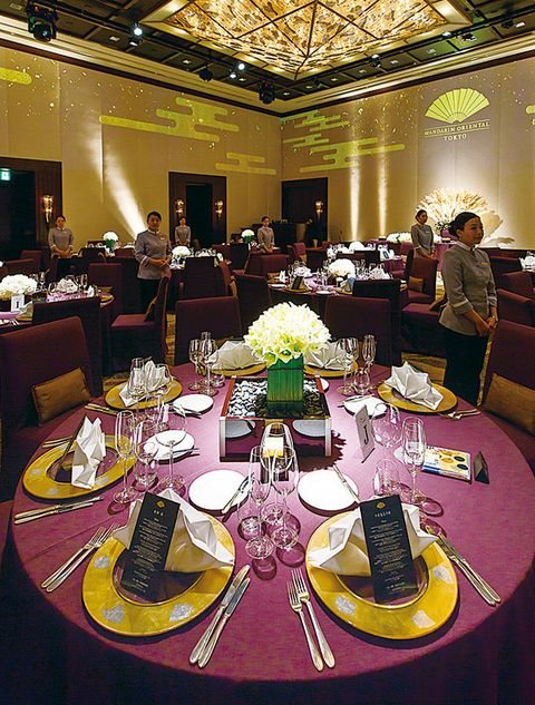 Wedding banquet, Decoration, Function hall, Rehearsal dinner, Meal, Banquet, Event, Party, Table, Centrepiece,
