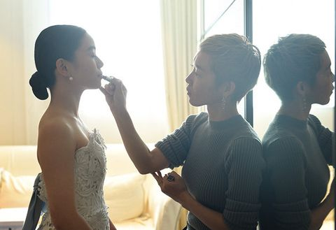 Photograph, Conversation, Interaction, Photography, Dress, Ceremony, Gesture, Love, Fashion design, Wedding,