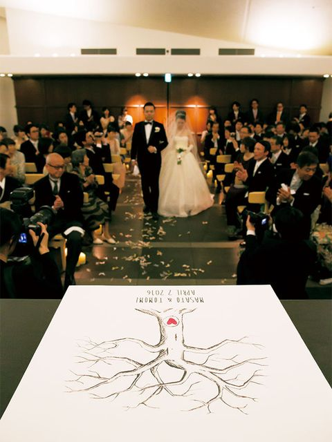 Photograph, Fashion, Event, Dress, Gown, Wedding dress, Bride, Ceremony, Bridal clothing, Function hall,