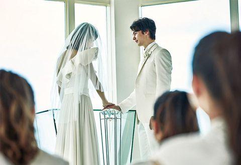 Event, Ceremony, White-collar worker, White coat, Wedding dress, Wedding, Job,