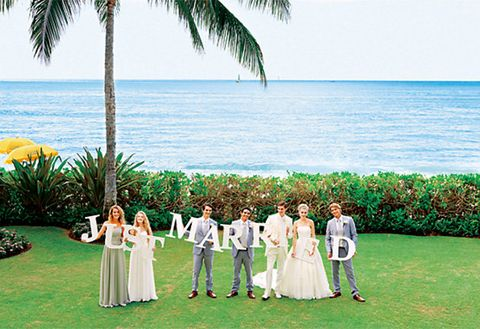 Photograph, Ceremony, Wedding, Event, Sky, Fun, Vacation, Dress, Caribbean, Ocean,