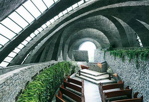 Architecture, Arch, Building, Plant, Arcade,