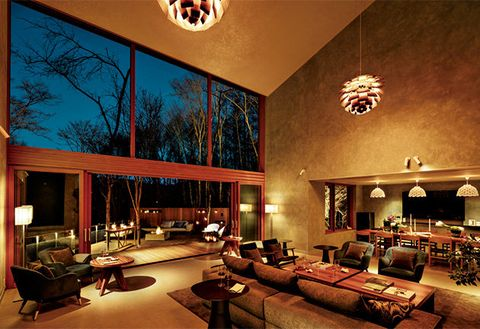 Interior design, Room, Building, Living room, Property, Home, Lighting, House, Ceiling, Real estate,