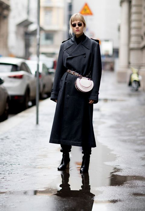Street fashion, Clothing, Photograph, Fashion, Coat, Overcoat, Outerwear, Snapshot, Footwear, Trench coat,
