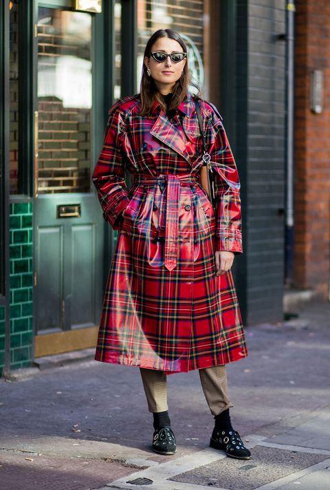 Plaid, Tartan, Clothing, Pattern, Street fashion, Fashion, Textile, Design, Outerwear, Coat,