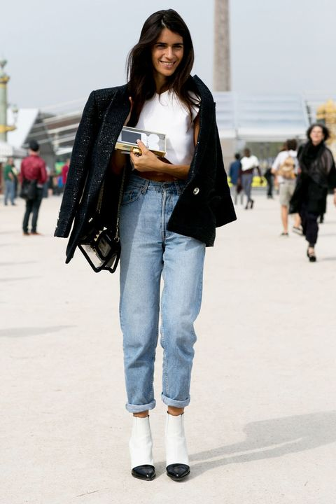 Clothing, Trousers, Denim, Textile, Jeans, Standing, Outerwear, White, Bag, Style,