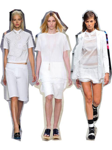 Clothing, Footwear, Leg, Sleeve, Shoulder, Joint, White, Human leg, Style, Waist,
