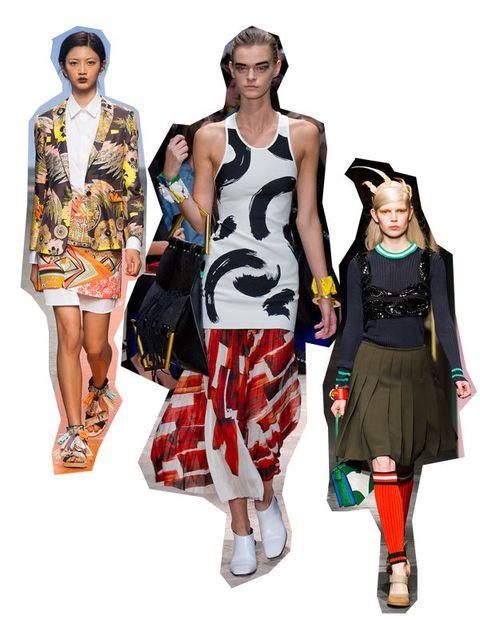 Shoulder, Style, Pattern, Dress, Waist, Fashion, Neck, Sleeveless shirt, One-piece garment, Fashion model,