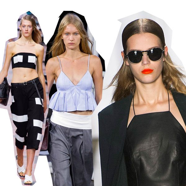 Clothing, Eyewear, Shoulder, Textile, White, Waist, Style, Sunglasses, Fashion, Black,