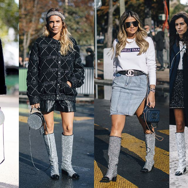 Street fashion, Clothing, Boot, Fashion, Knee-high boot, Footwear, Knee, Riding boot, Leg, Joint,