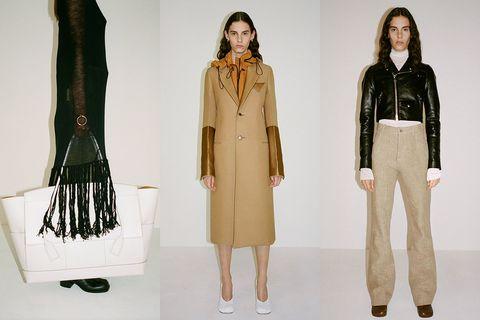 Clothing, Fashion, Outerwear, Fashion model, Fashion design, Coat, Jacket, Costume design, Overcoat, Leather,