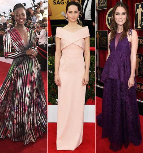 Clothing, Dress, Shoulder, Flooring, Red, Formal wear, Style, Carpet, Fashion accessory, Fashion,