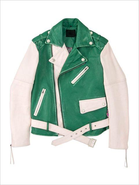 Green, Collar, Sleeve, Textile, Pattern, Jacket, Fashion, Beige, Turquoise, Fashion design,