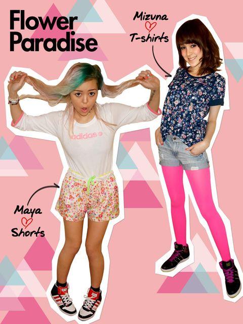 Leg, Pink, Style, Pattern, Youth, Poster, Thigh, Denim, Knee, Waist,