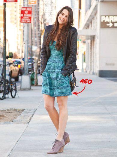 Clothing, Bicycle wheel, Shoulder, Dress, Shoe, Human leg, High heels, Style, Street fashion, Bag,