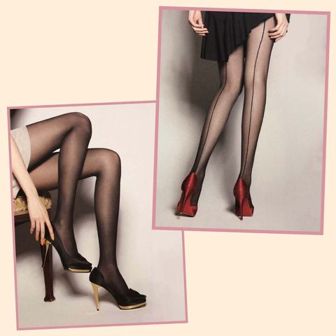 Leg, Tights, Thigh, Human leg, Clothing, Pantyhose, Stocking, Footwear, Human body, High heels,