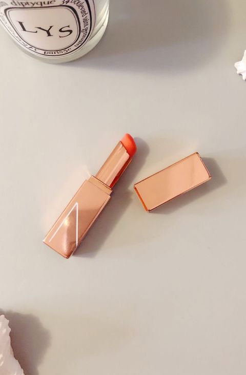 Orange, Copper, Lipstick, Material property, Peach, Metal,