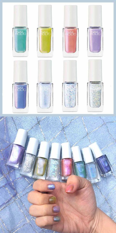 Liquid, Blue, Finger, Product, Fluid, Purple, Lavender, Pink, Violet, Nail care,