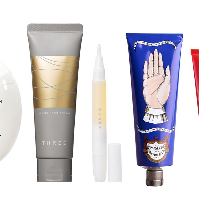 Product, Skin care, Cream, Cosmetics, Material property, Hand, Beige,