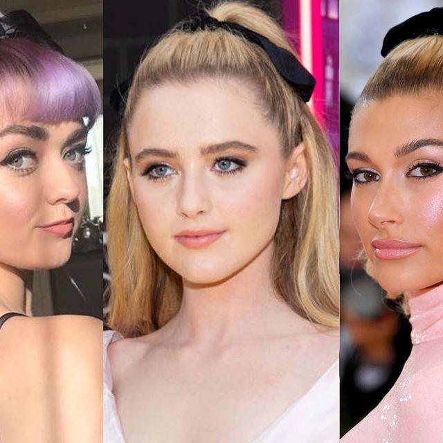 Hair, Head, Ear, Lip, Hairstyle, Eye, Chin, Earrings, Forehead, Eyelash,
