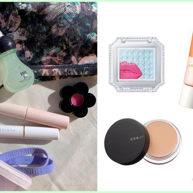 Pink, Purple, Lipstick, Lavender, Magenta, Peach, Tints and shades, Cosmetics, Violet, Brush,