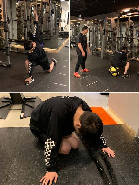 Arm, Leg, Human body, Human leg, Shoulder, Physical fitness, Elbow, Joint, Exercise, Wrist,