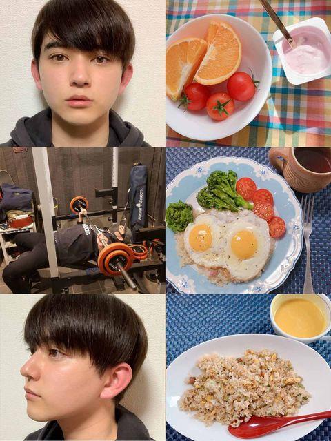 Head, Ear, Hairstyle, Food, Forehead, Cuisine, Tableware, Style, Dishware, Meal,