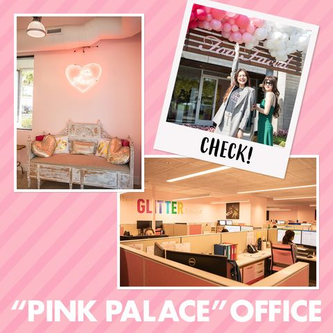 Room, Pink, Interior design, Peach, Interior design, Design, Advertising, Collage, Kitchen & dining room table,