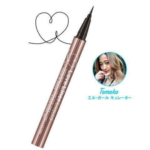 Eyebrow, Eye, Eye liner, Pencil, Brown, Organ, Writing implement, Cosmetics, Drawing, Eyelash,