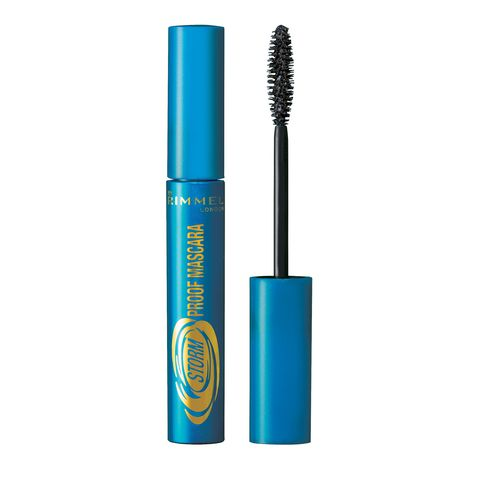 Cosmetics, Mascara, Beauty, Turquoise, Eye, Material property, Brush, Electric blue, Eyelash,