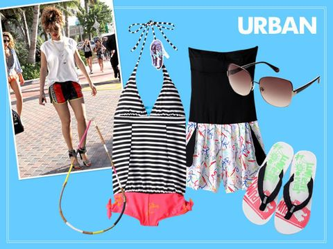Textile, Style, Summer, Pattern, Shorts, Fashion, Street fashion, Design, Advertising, Brand,