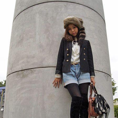 Brown, Textile, Bag, Outerwear, Jacket, Style, Boot, Fashion accessory, Street fashion, Fashion,