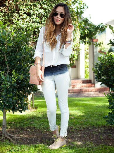 Clothing, Green, Sunglasses, Textile, Outerwear, Style, Denim, Street fashion, Fashion accessory, Goggles,