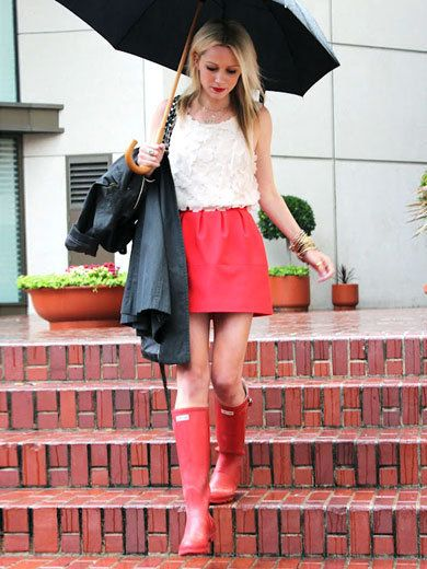 Clothing, Leg, Textile, Flowerpot, Umbrella, Outerwear, Style, Boot, Fashion accessory, Street fashion,