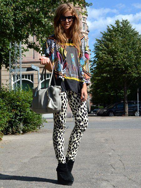 Clothing, Textile, Sunglasses, Outerwear, Style, Street fashion, Pattern, Bag, Fashion accessory, Fashion,