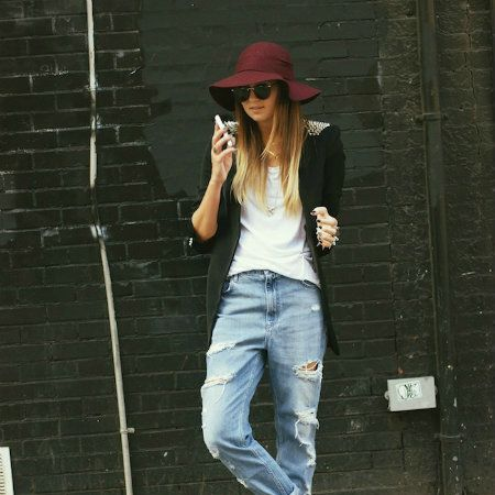 Clothing, Footwear, Denim, Trousers, Jeans, Textile, Sunglasses, Hat, Outerwear, Style,