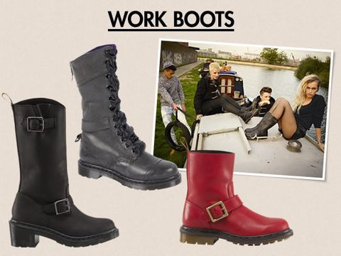 Footwear, Boot, Shoe, Fashion, Leather, Work boots, Steel-toe boot, Riding boot, Motorcycle boot, Synthetic rubber,