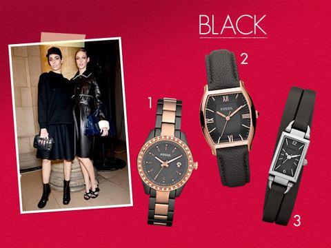 Product, Watch, Analog watch, Wrist, Red, Glass, Watch accessory, Font, Fashion accessory, Fashion,