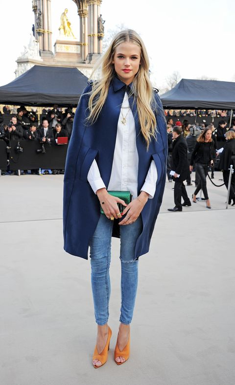 Clothing, Winter, Sleeve, Trousers, Denim, Jeans, Textile, Outerwear, Style, Street fashion,