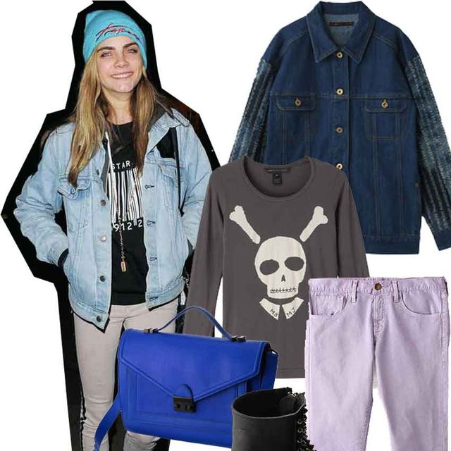 Blue, Product, Sleeve, Textile, Boot, Denim, Fashion, Costume accessory, Electric blue, Bag,