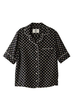 Product, Collar, Sleeve, Pattern, Dress shirt, Textile, White, Style, Line, Polka dot,