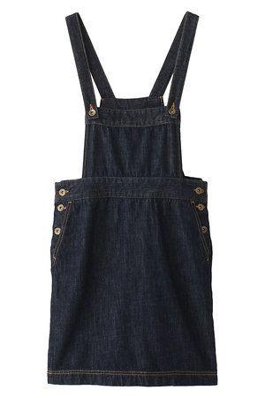 Product, Textile, White, Denim, Dress, Pocket, Pattern, One-piece garment, Fashion, Black,
